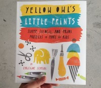 Yellow Owl LIttle Prints