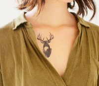 Deer Temporary Tatty Tattly