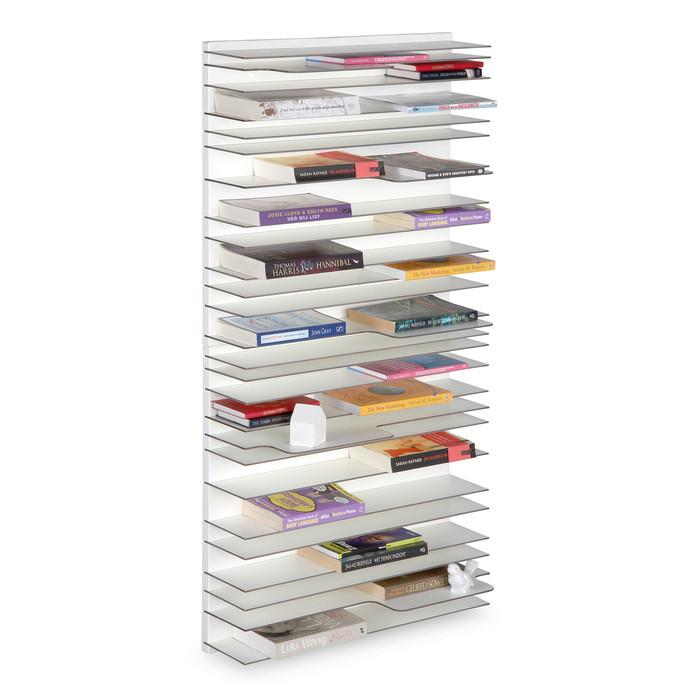 paperback shelf