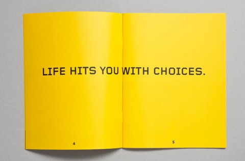 Life hits you with choices
