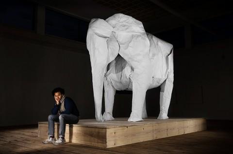 life sized elephant