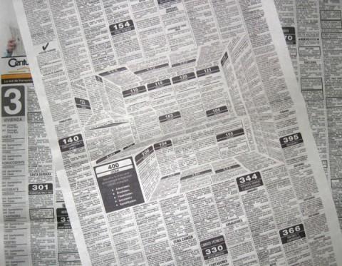3d Newspaper Ad