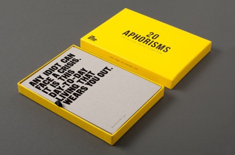 Aphorism Cards