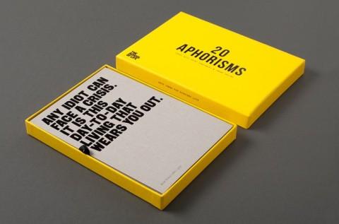 Aphorism Cards