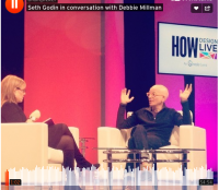 debbie millman in conversation with Seth Godin