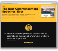 Library of Commencement Speeches