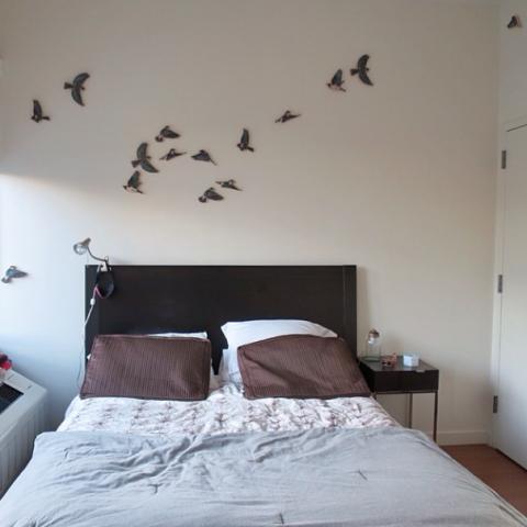woodcut birds