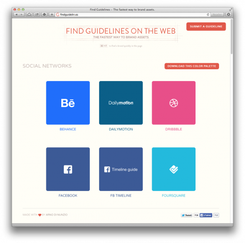 swissmiss | Brand Guidelines from popular online brands