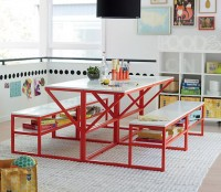 new-school-desk-with-bench-red-white