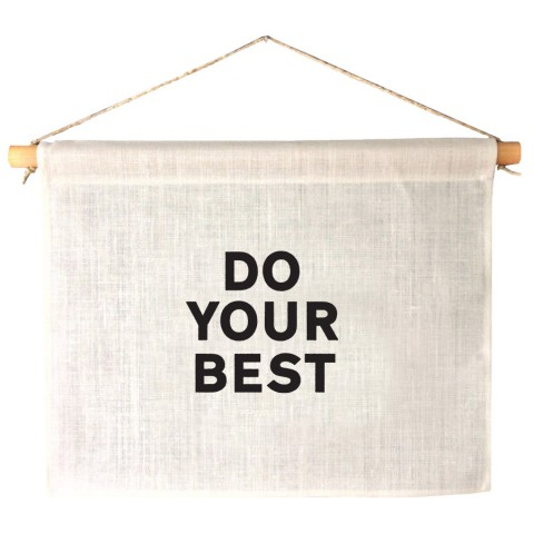 do your best banner