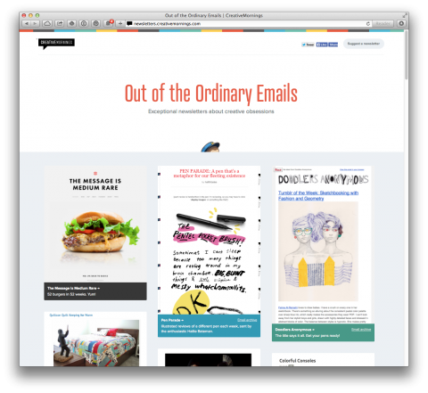 Out of the Ordinary Newsletters