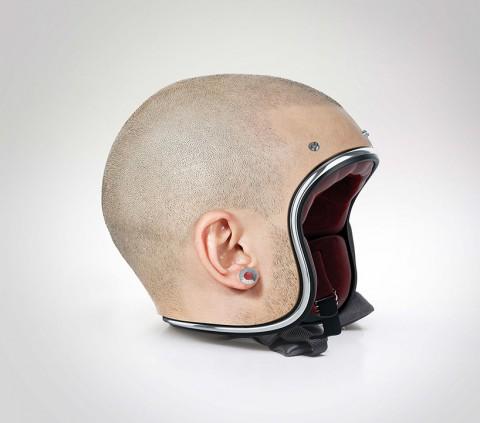 Human Head Helmets