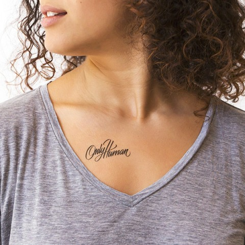 Only Human Tattly Temporary Tattoo