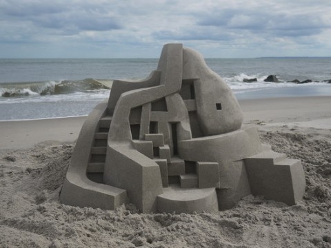 modernist sandcastles