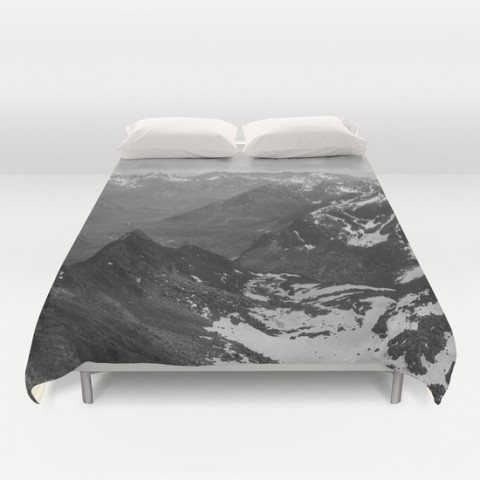 archangel valley duvet cover