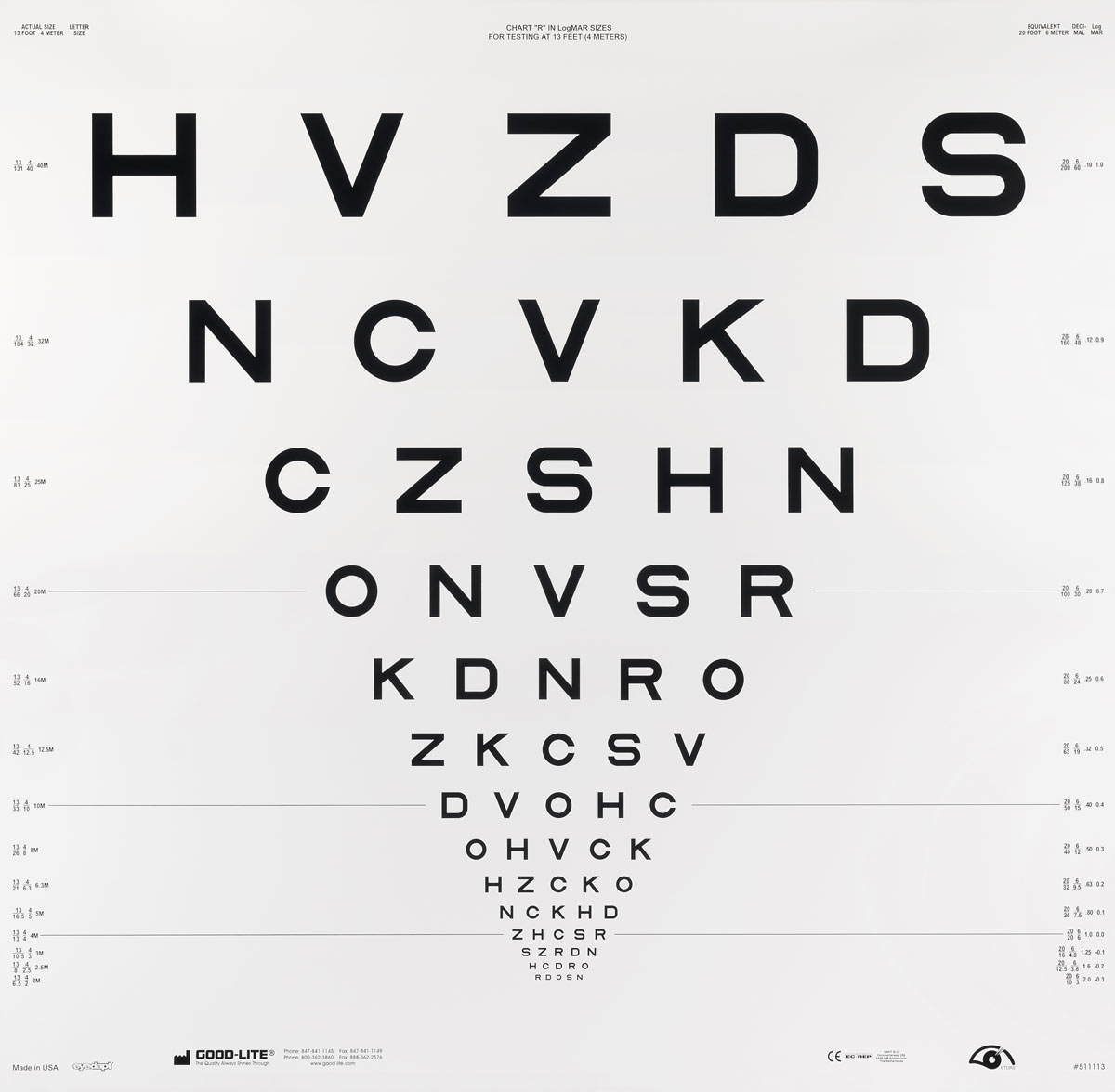 Swissmiss Eye Chart Typography