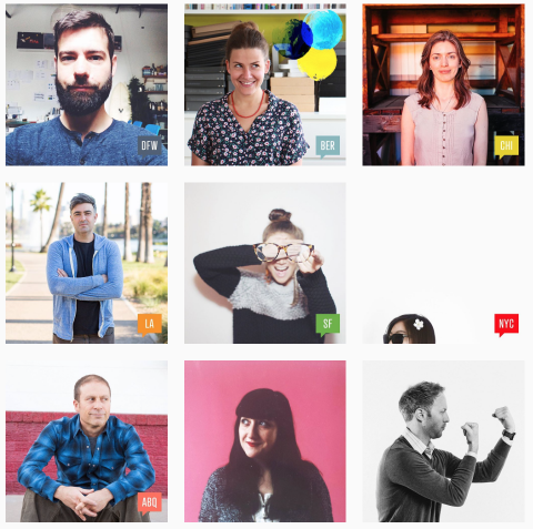 creativemornings instagram stream