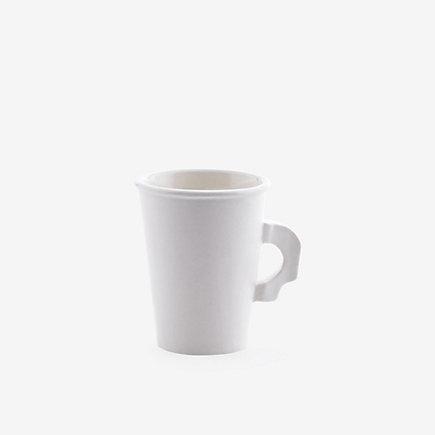 paper ceramic mug