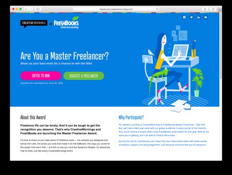 Master Freelancer Award
