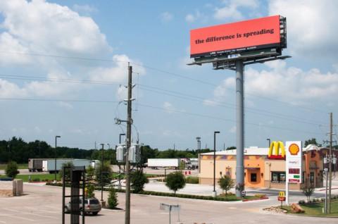 LAND Manifest Destiny Billboard Project