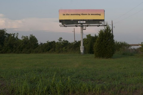 LAND Manifest Destiny Billboard Project