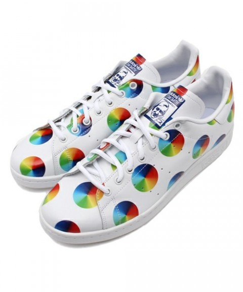 Adidas color wheel sneaker