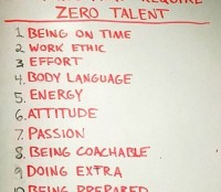 zero luck or talent needed