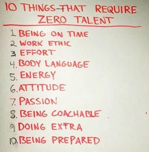 zero luck or talent needed