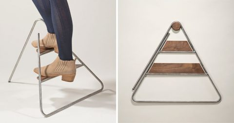 fold up designy step ladder