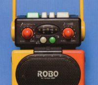 retro japanese boom box