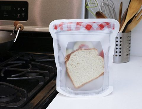 Jam Zipper Jar Bag