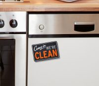 dishwasher sign