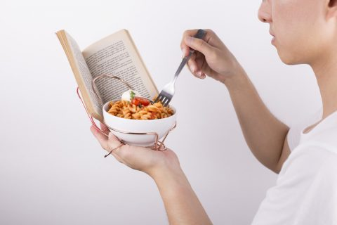 Reading and Eating