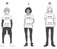 sizing chart reinvented
