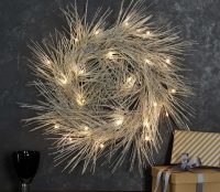 LED Tinsel Wreath