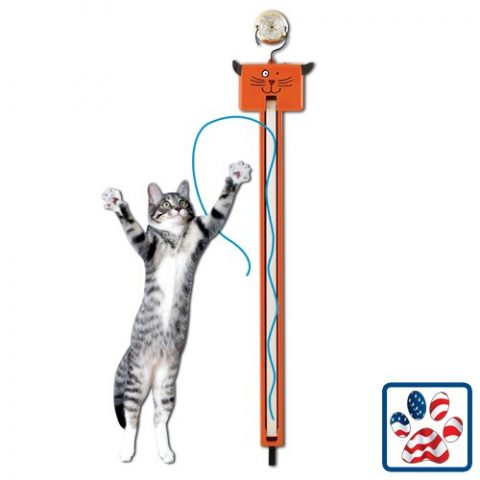 Fling-Ams-string cat toy