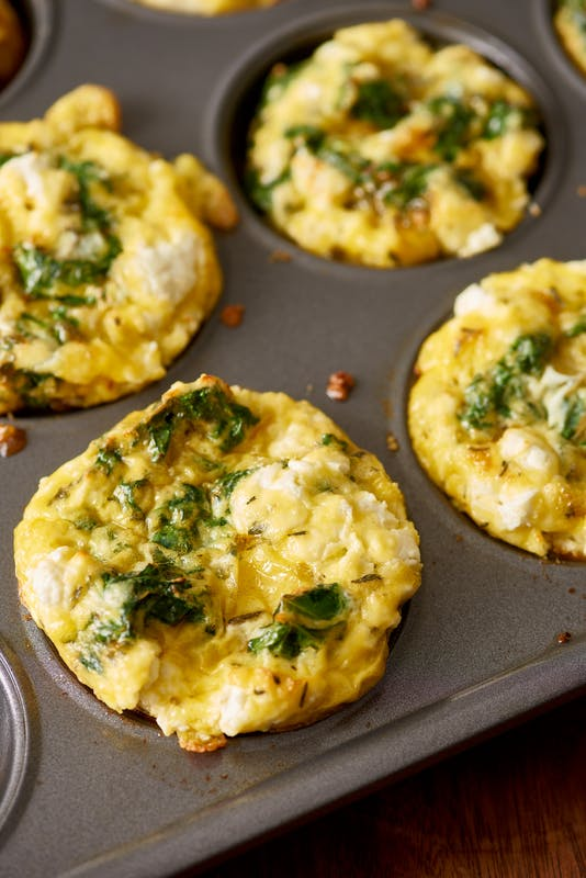 swissmiss | Kale and Goat Cheese Frittata Cups