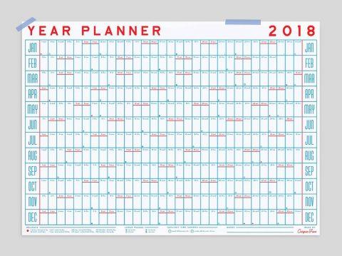 2018 year planner