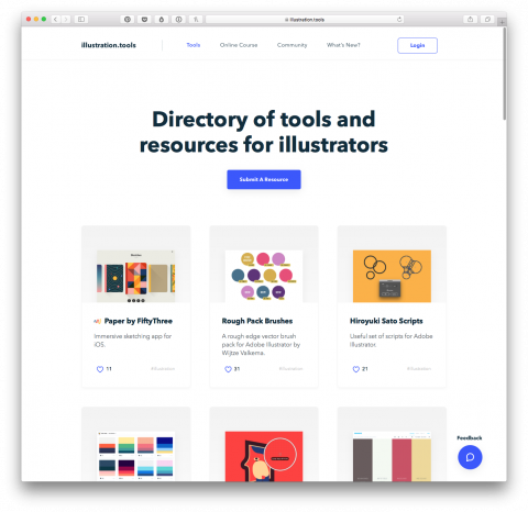 Directory of Tools and Resources for Illustrators