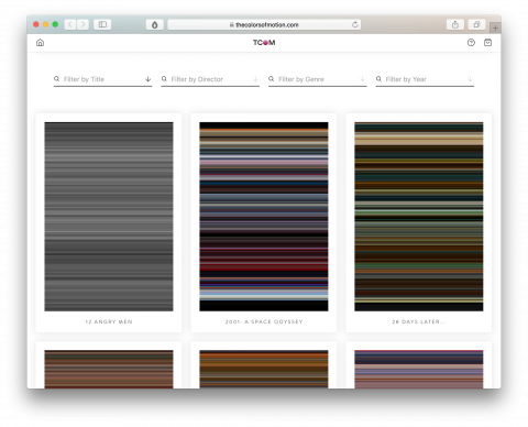 Movie Color Palettes