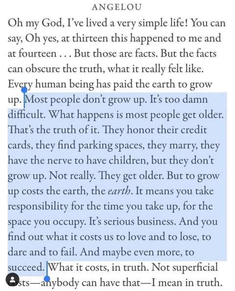 Most People Don't Grow Up
