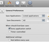 Automatically Save Your Work on Your Mac On Any Application