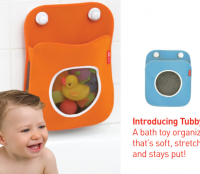 The SkipHop way to organize Bath Toys