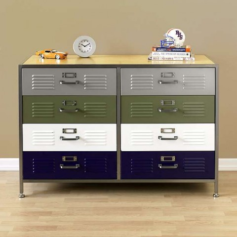 Swissmiss Pbteen Locker Double Dresser