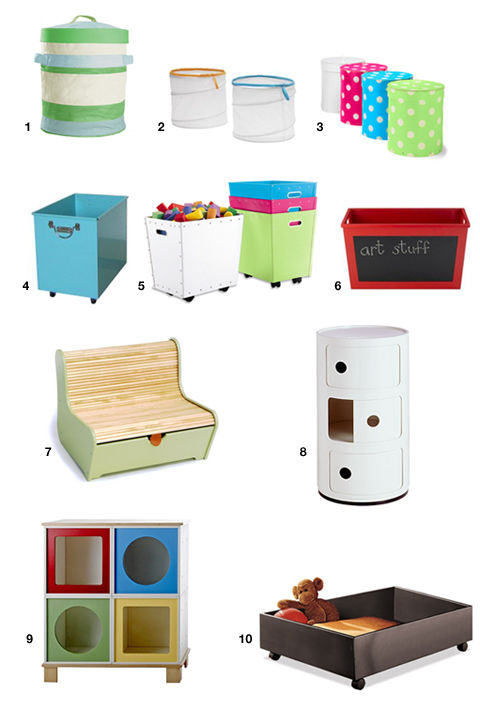 Swissmiss Toy Storage Solutions