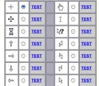custom cursor code