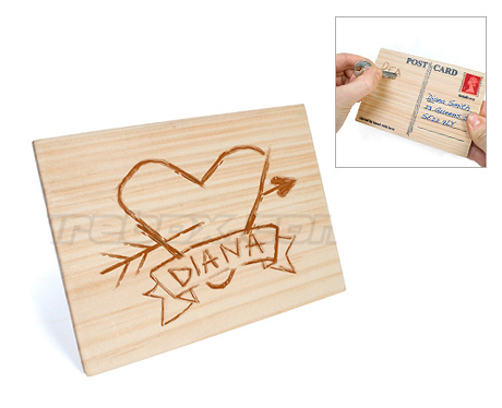 Woodvalentinecard