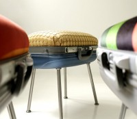 you love to travel? you might like this stool!