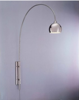 Wall Mounted Arc Lights : swissmiss canna wall sconce arc lamp