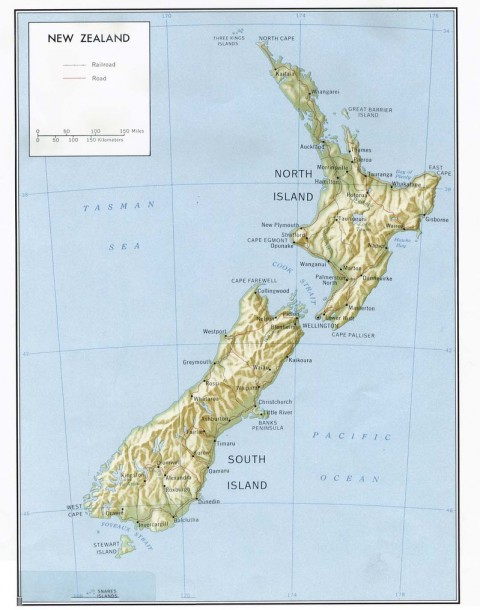 Printable Map Of South Island New Zealand.Swissmiss Question For My Readers A Printer In New Zealand